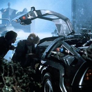 Zurück in die Zukunft : Bild Christopher Lloyd, Michael J. Fox