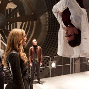 X-Men: Erste Entscheidung : Bild James McAvoy, Jennifer Lawrence, Matthew Vaughn, Michael Fassbender