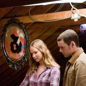Der Biber : Bild Anton Yelchin, Jennifer Lawrence