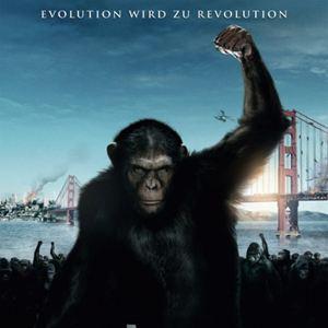 Planet der Affen: Prevolution : Kinoposter