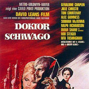 Doktor Schiwago : Kinoposter