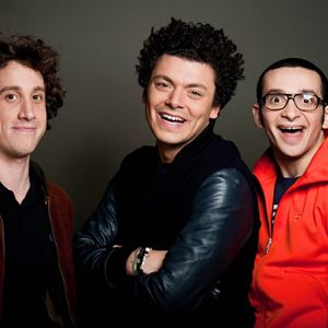 Bild Gaël Cottat, Kev Adams, William Lebghil