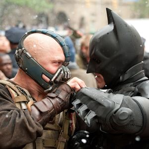 The Dark Knight Rises : Bild Christian Bale, Tom Hardy