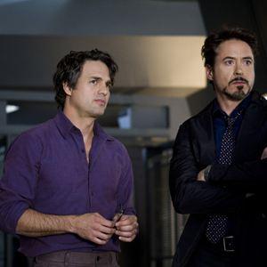 Marvel's The Avengers : Bild Mark Ruffalo, Robert Downey Jr.
