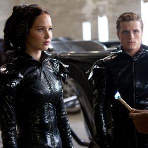 Die Tribute von Panem - Tödliche Spiele : Bild Jennifer Lawrence, Josh Hutcherson