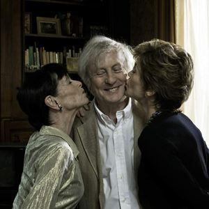 Und wenn wir alle zusammenziehen? : Bild Claude Rich, Geraldine Chaplin, Jane Fonda, Stéphane Robelin