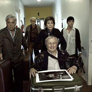 Und wenn wir alle zusammenziehen? : Bild Claude Rich, Geraldine Chaplin, Guy Bedos, Jane Fonda, Pierre Richard