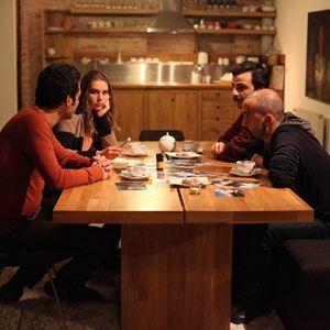 Bild Asli Enver, Güven Murat Akpinar, Murat Yildirim, Sarp Akkaya