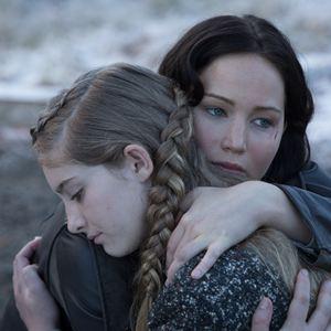 Die Tribute von Panem 2 - Catching Fire : Bild Jennifer Lawrence, Willow Shields