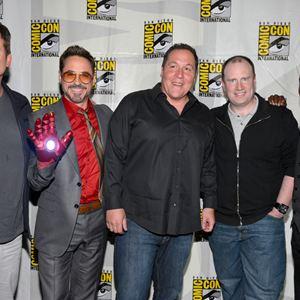 Iron Man 3 : Vignette (magazine) Don Cheadle, Jon Favreau, Kevin Feige, Robert Downey Jr., Shane Black