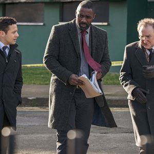 Bild Dermot Crowley, Idris Elba, Warren Brown