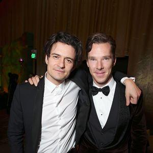 Der Hobbit: Smaugs Einöde : Vignette (magazine) Benedict Cumberbatch, Orlando Bloom