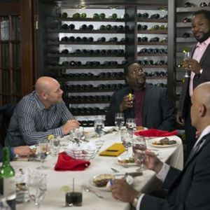 Bild Domenick Lombardozzi, Malcolm-Jamal Warner, Michael J. Fox, Wendell Pierce