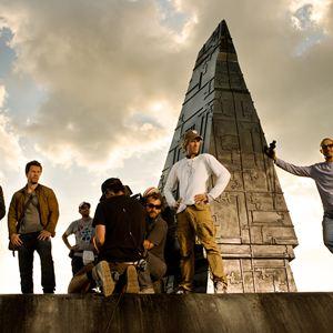 Transformers 4: Ära des Untergangs : Bild Jack Reynor, Mark Wahlberg, Michael Bay