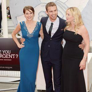 Die Bestimmung - Divergent : Vignette (magazine) Kate Winslet, Shailene Woodley, Theo James