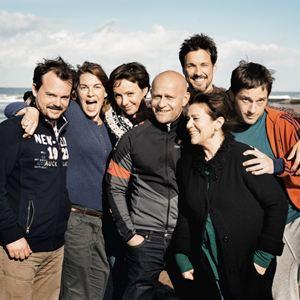 Hin und weg : Bild Florian David Fitz, Hannelore Elsner, Johannes Allmayer, Julia Koschitz, Jürgen Vogel