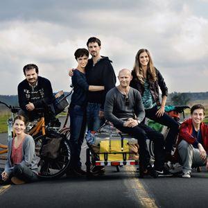 Hin und weg : Bild Florian David Fitz, Johannes Allmayer, Julia Koschitz, Jürgen Vogel, Miriam Stein (II)