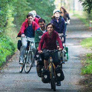 Hin und weg : Bild Florian David Fitz, Julia Koschitz, Victoria Mayer, Volker Bruch