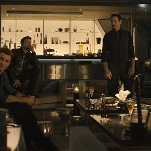 Avengers 2: Age Of Ultron : Bild Chris Evans, Chris Hemsworth, Don Cheadle, Jeremy Renner, Robert Downey Jr.