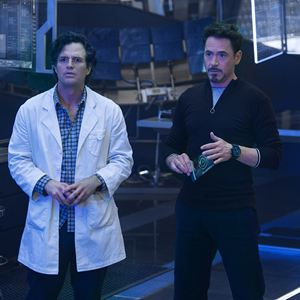 Avengers 2: Age Of Ultron : Bild Mark Ruffalo, Robert Downey Jr.