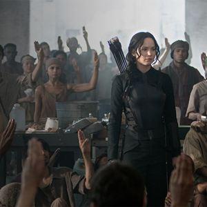 Die Tribute von Panem 3 - Mockingjay Teil 1 : Bild Jennifer Lawrence