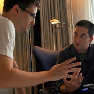 Citizenfour : Bild Edward Snowden, Glenn Greenwald