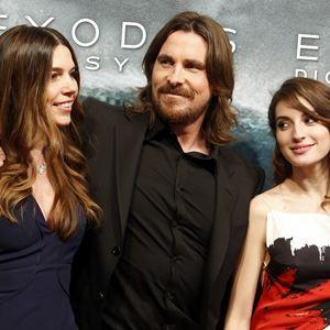 Exodus: Götter und Könige : Vignette (magazine) Christian Bale, María Valverde