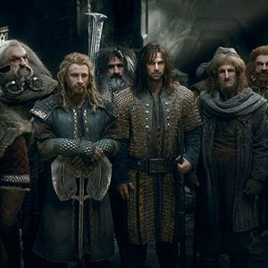 Der Hobbit: Die Schlacht der Fünf Heere : Bild Aidan Turner, Billy Connolly, Dean O'Gorman, Graham McTavish, Jed Brophy