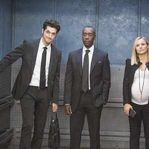 Bild Ben Schwartz, Don Cheadle, Kristen Bell