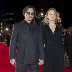 Mortdecai - Der Teilzeitgauner : Vignette (magazine) Amber Heard, Johnny Depp