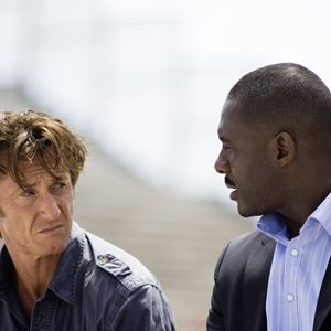 The Gunman : Bild Idris Elba, Sean Penn