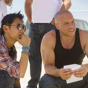Fast & Furious 7 : Bild James Wan, Vin Diesel
