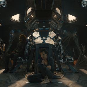 Avengers 2: Age Of Ultron : Bild Chris Evans, Chris Hemsworth, Mark Ruffalo, Scarlett Johansson