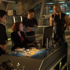 Avengers 2: Age Of Ultron : Bild Chris Evans, Chris Hemsworth, Mark Ruffalo, Robert Downey Jr., Scarlett Johansson