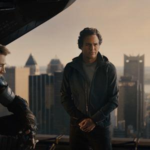 Avengers 2: Age Of Ultron : Bild Chris Evans, Mark Ruffalo, Robert Downey Jr.