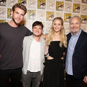 Die Tribute von Panem 4 - Mockingjay Teil 2 : Vignette (magazine) Francis Lawrence, Jennifer Lawrence, Josh Hutcherson, Liam Hemsworth