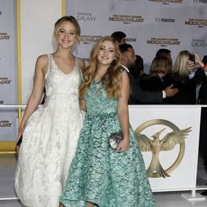 Die Tribute von Panem 3 - Mockingjay Teil 1 : Vignette (magazine) Jennifer Lawrence, Willow Shields