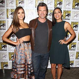 Sin City 2: A Dame To Kill For : Vignette (magazine) Jessica Alba, Josh Brolin, Rosario Dawson
