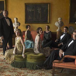 Bild Allen Leech, Elizabeth McGovern, Hugh Bonneville, Laura Carmichael, Matthew Goode