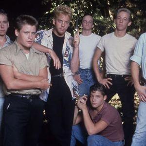 Stand By Me - Das Geheimnis eines Sommers : Bild Casey Siemaszko, Corey Feldman, Jerry O'Connell, Kiefer Sutherland, River Phoenix