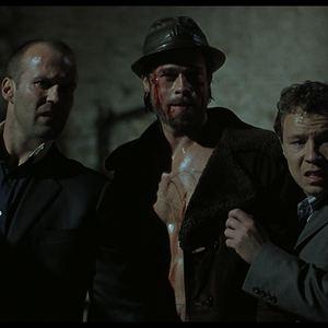 Snatch – Schweine und Diamanten : Bild Brad Pitt, Jason Statham, Stephen Graham