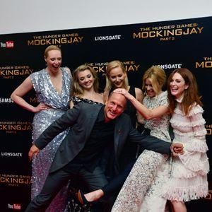 Die Tribute von Panem 4 - Mockingjay Teil 2 : Vignette (magazine) Elizabeth Banks, Gwendoline Christie, Jennifer Lawrence, Julianne Moore, Natalie Dormer