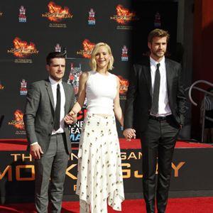 Die Tribute von Panem 4 - Mockingjay Teil 2 : Vignette (magazine) Jennifer Lawrence, Josh Hutcherson, Liam Hemsworth