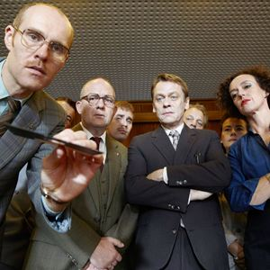 Bild Maria Schrader, Niels Bormann, Sylvester Groth, Uwe Preuss