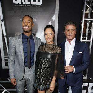 Creed - Rocky's Legacy : Vignette (magazine) Michael B. Jordan, Sylvester Stallone, Tessa Thompson