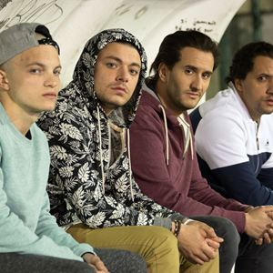 Amis publics : Bild John Eledjam, Kev Adams, Majid Berhila, Paul Bartel (II)