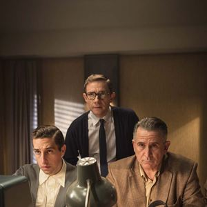 Der Fall Eichmann : Bild Anthony LaPaglia, Dylan Edwards, Martin Freeman