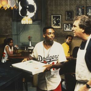 Do the Right Thing : Bild Danny Aiello, Spike Lee