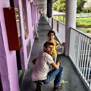 The Florida Project : Bild Brooklynn Prince, Willem Dafoe