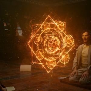 Doctor Strange : Bild Benedict Cumberbatch, Tilda Swinton